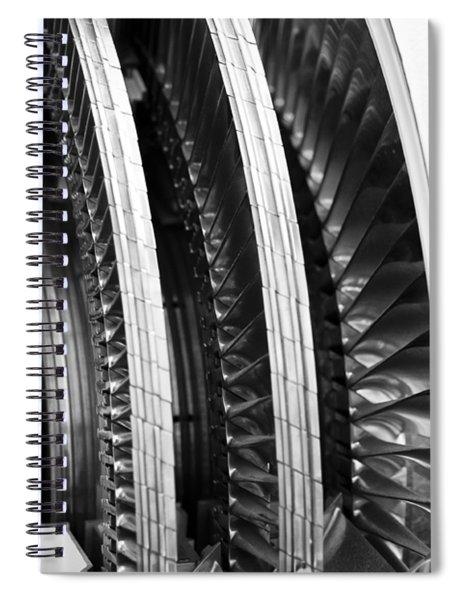 Blades Of Glory Spiral Notebook