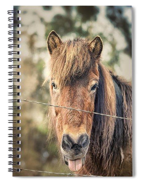 Blah Spiral Notebook