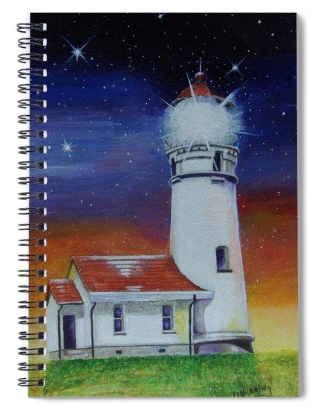 Blanco Lighthouse Spiral Notebook