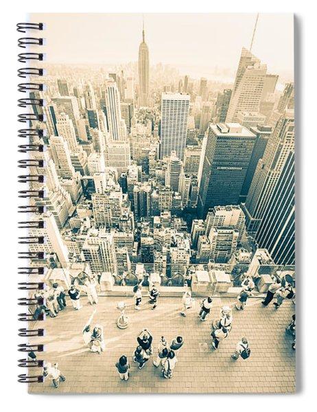 Bleached Manhattan Spiral Notebook