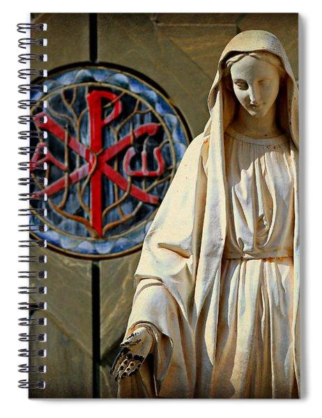 Blessed Virgin Mary -- Nazareth Spiral Notebook