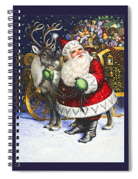 Blitzen Spiral Notebook