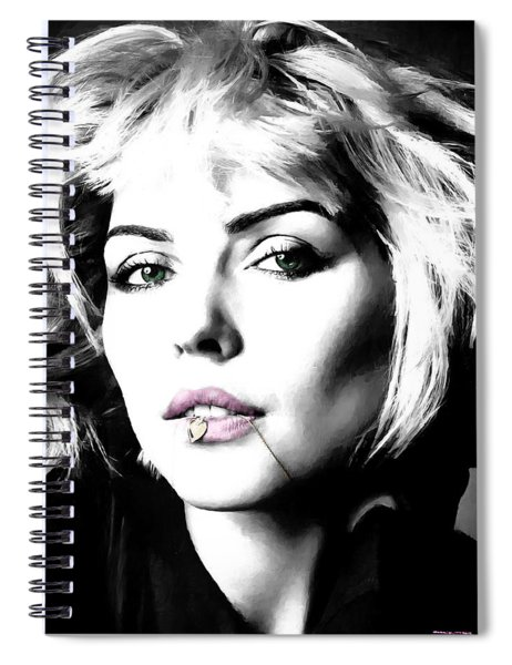 Blondie Large Size Portrait Spiral Notebook