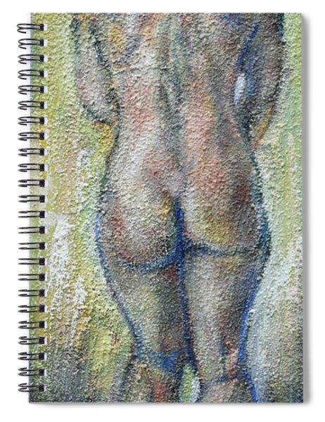 Blond's Back Spiral Notebook