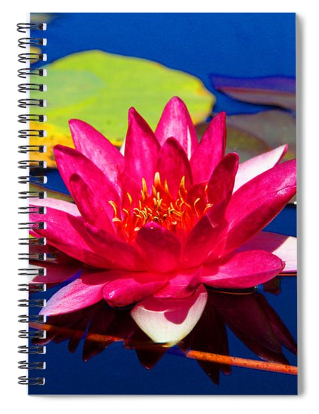 Blooming Lily Spiral Notebook