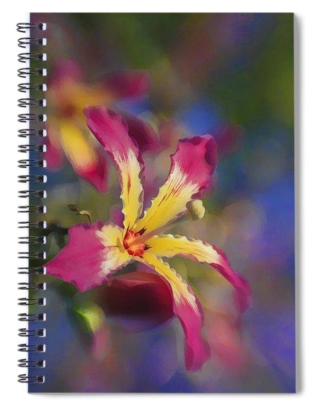 Bloomin Hong Kong Orchid Spiral Notebook