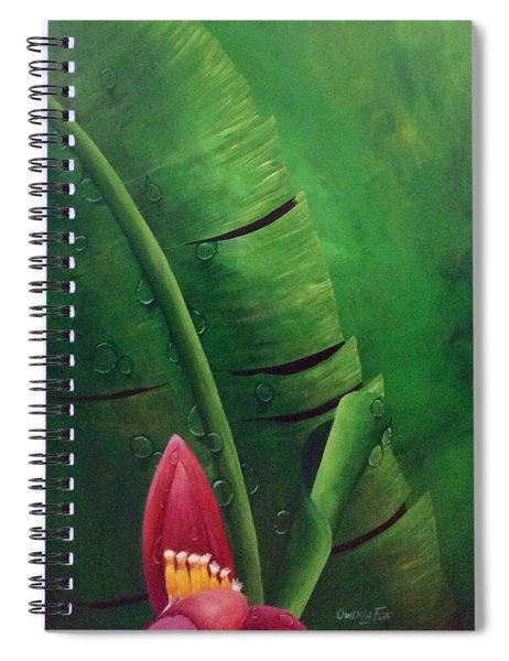 Blooming Banana Spiral Notebook