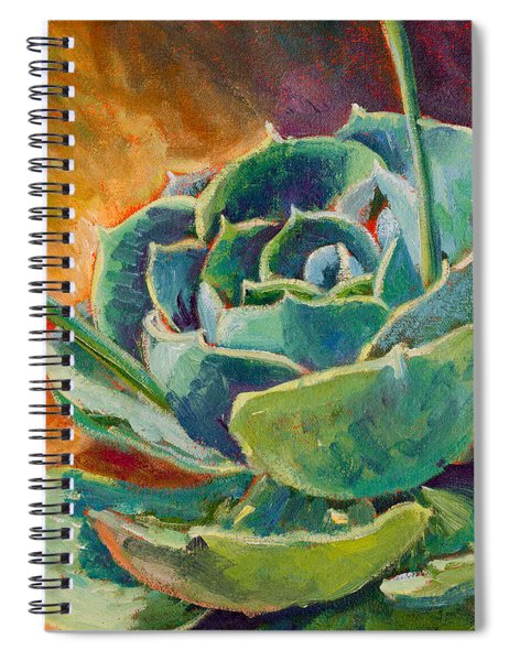 Blooming Hen Spiral Notebook