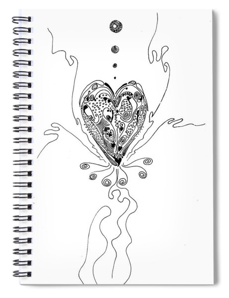 Blossoming Love Spiral Notebook