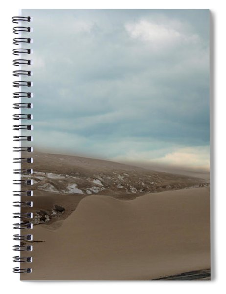 Blowing Sand Spiral Notebook