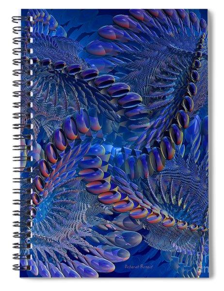 Blue 3 Spiral Notebook