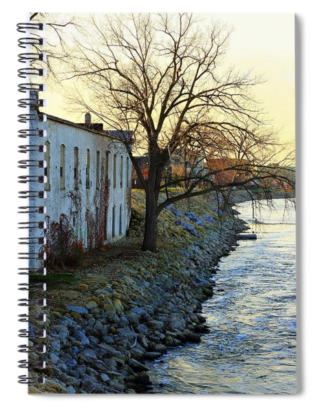 Blue And Yellow Morning Spiral Notebook