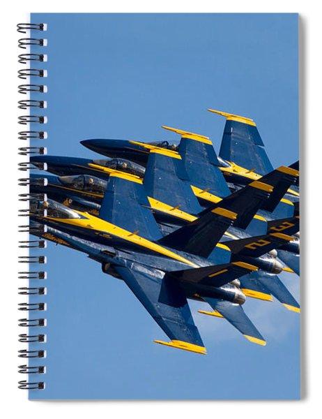 Blue Angels Echelon Spiral Notebook