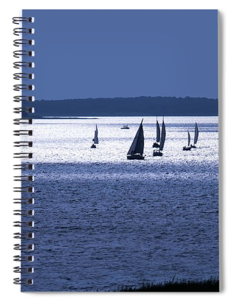 The Blue Armada Spiral Notebook