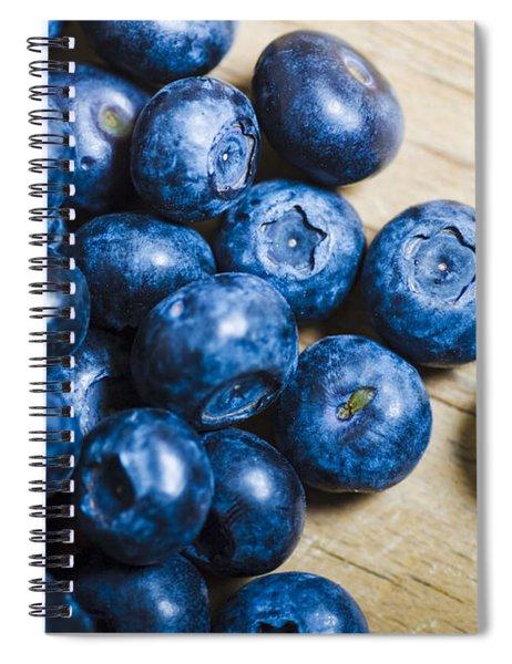 Blue Berries  Spiral Notebook