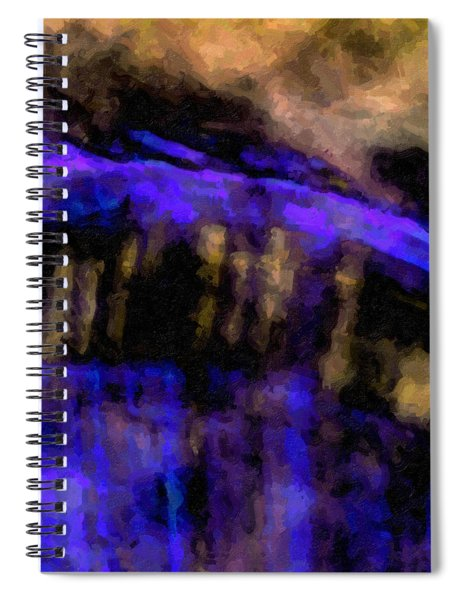 Blue Cliff Spiral Notebook