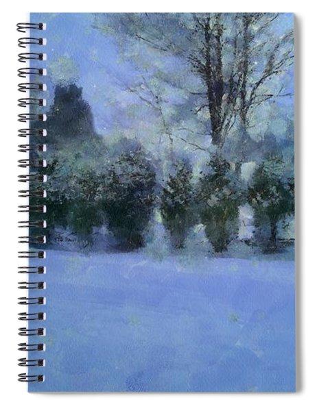 Blue Dawn Spiral Notebook