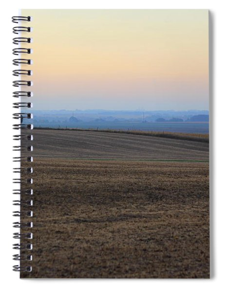 Blue Dawn Spiral Notebook