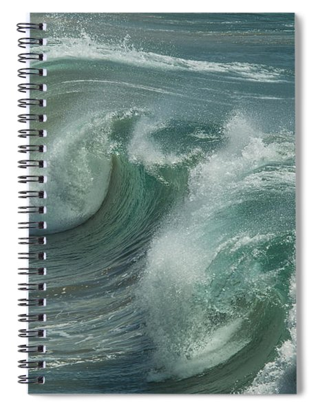 Blue Glass  Spiral Notebook