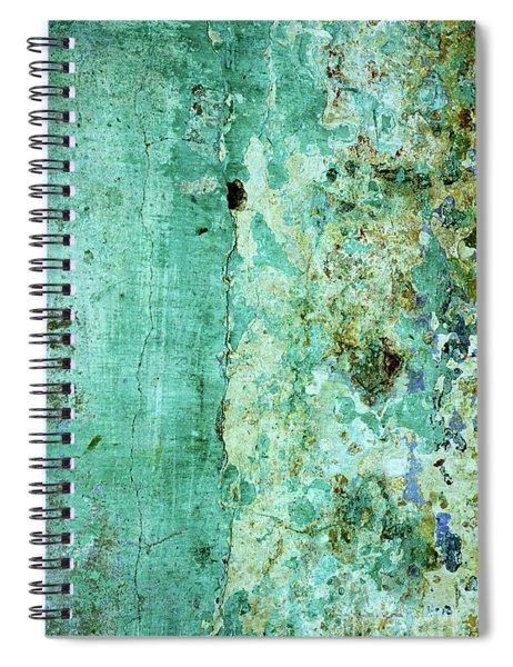 Blue Green Wall Spiral Notebook