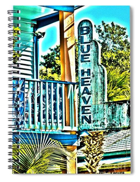 Blue Heaven In Key West - 1 Spiral Notebook