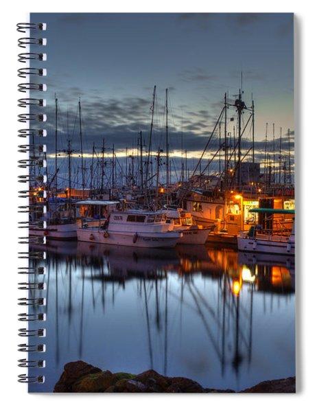 Blue Hour Spiral Notebook