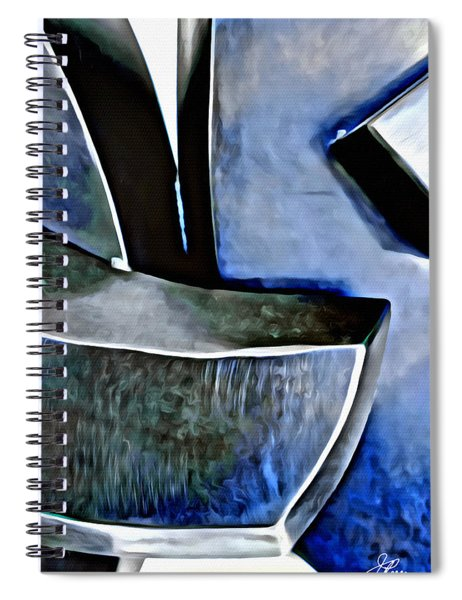 Blue Iron Spiral Notebook