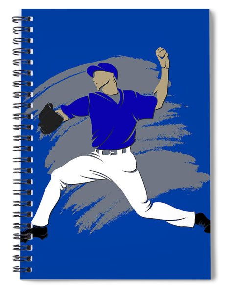 Blue Jays Shadow Player3 Spiral Notebook