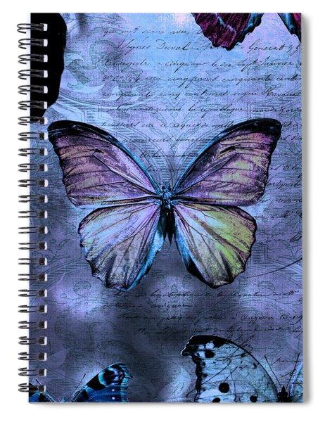 Blue Jean Baby Spiral Notebook