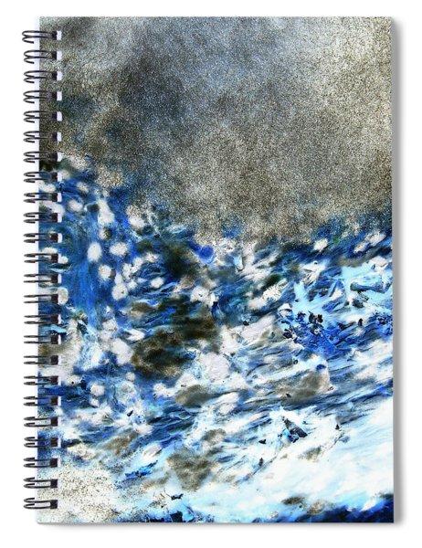 Blue Mold Spiral Notebook