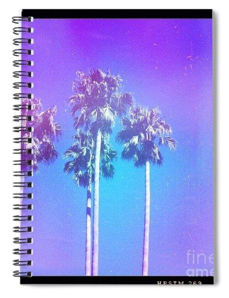 Blue Palms Spiral Notebook