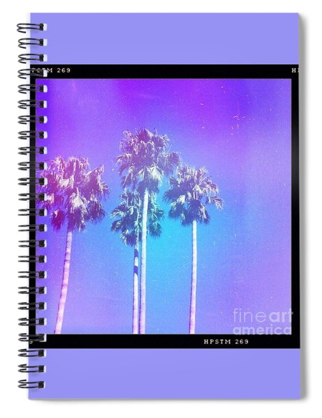 Blue Palms Spiral Notebook
