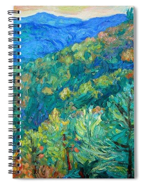 Blue Ridge Autumn Spiral Notebook