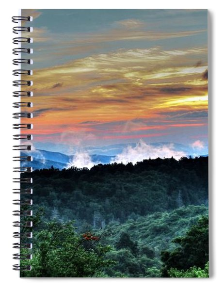 Blue Ridge Mountain Sunrise  Spiral Notebook