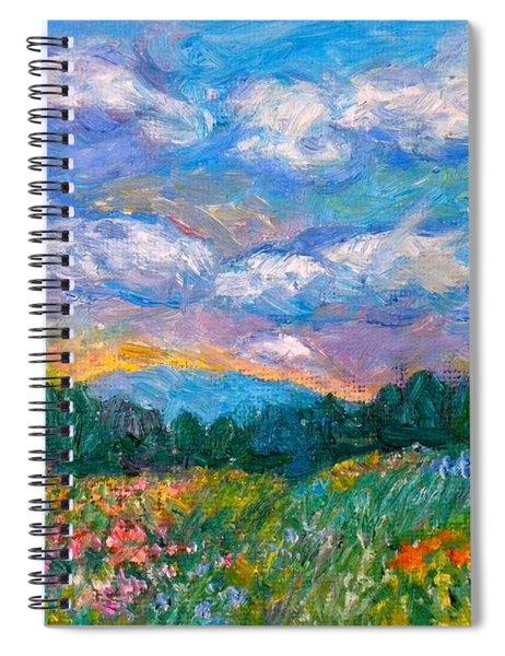 Blue Ridge Wildflowers Spiral Notebook
