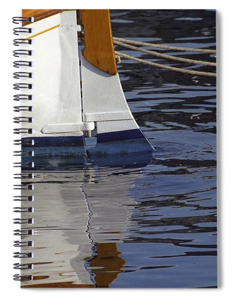 Blue Rudder Spiral Notebook