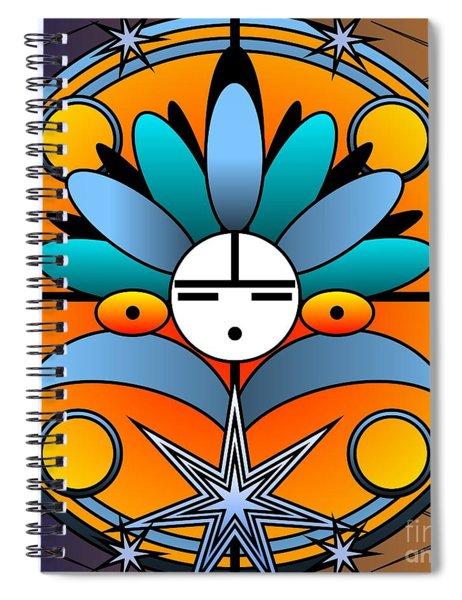 Blue Star Kachina 2012 Spiral Notebook