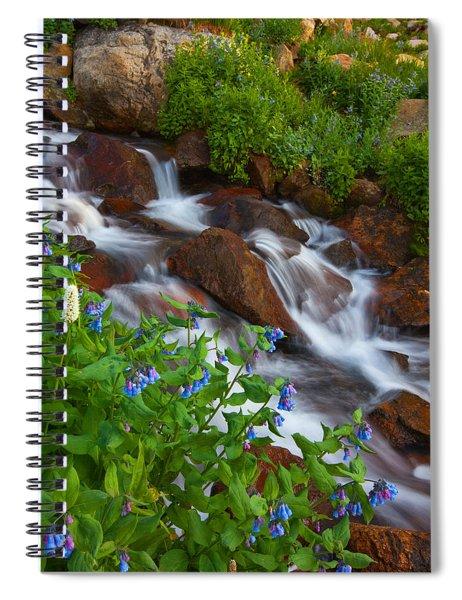 Bluebell Creek Spiral Notebook