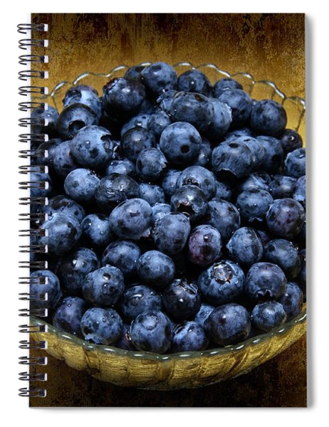Blueberry Elegance Spiral Notebook