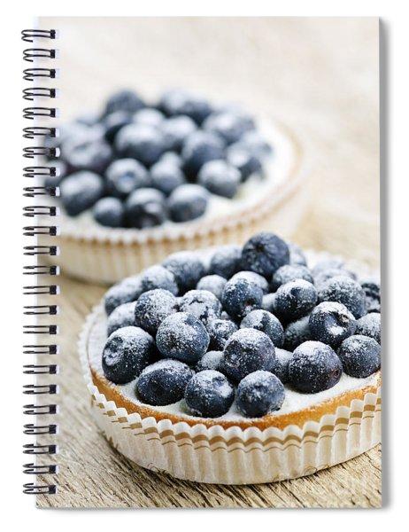 Blueberry Tarts Spiral Notebook