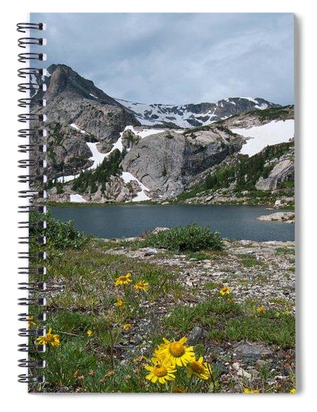 Bluebird Lake - Colorado Spiral Notebook