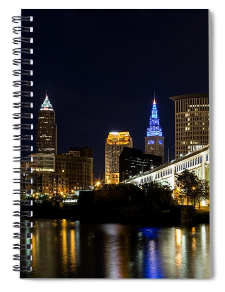 Blues In Cleveland Ohio Spiral Notebook