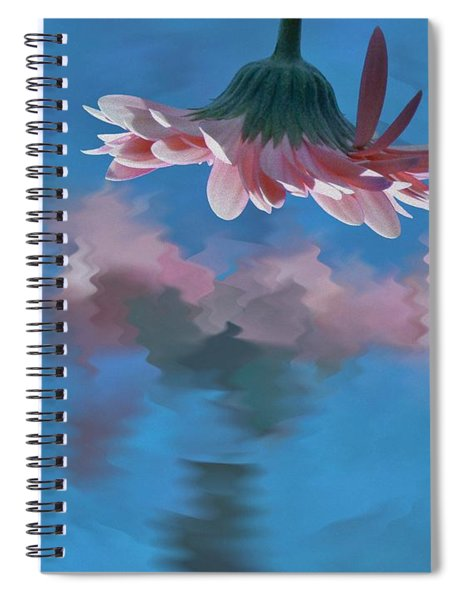 Blushing Pink Bloom Spiral Notebook