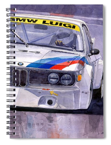 Bmw 3 0 Csl 1972 1975 Spiral Notebook