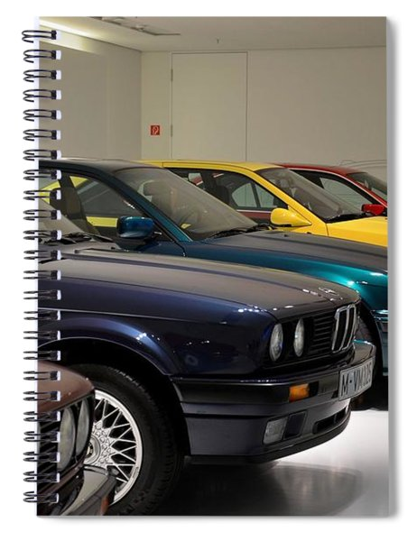 Bmw Cars Through The Years Munich Germany Spiral Notebook