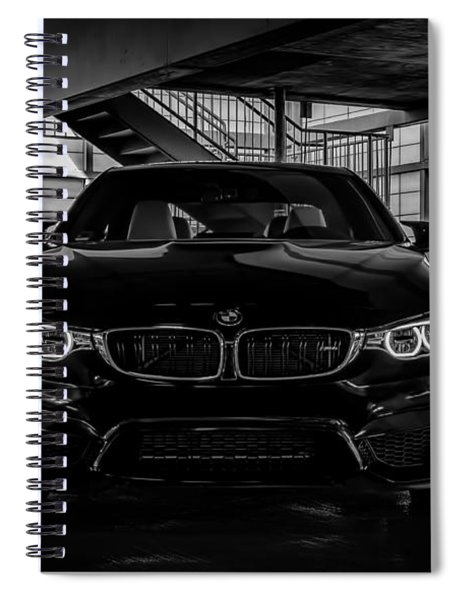 Bmw M4 Spiral Notebook