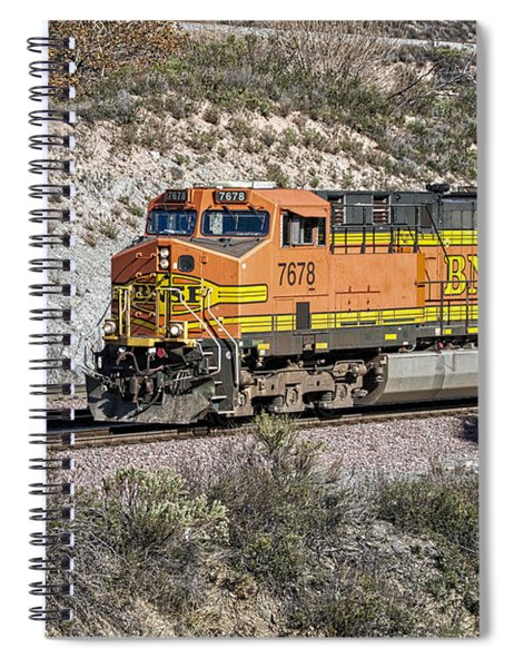 Spiral Notebook featuring the photograph Bn 7678 by Jim Thompson