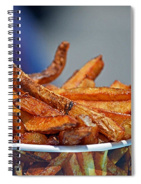 French Fries On The Boards Spiral Notebook