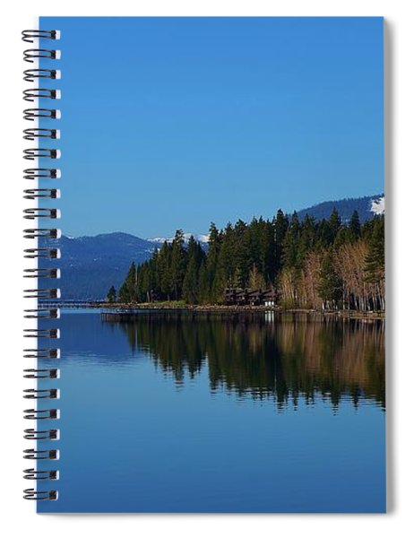 Boat House Lake Tahoe Spiral Notebook