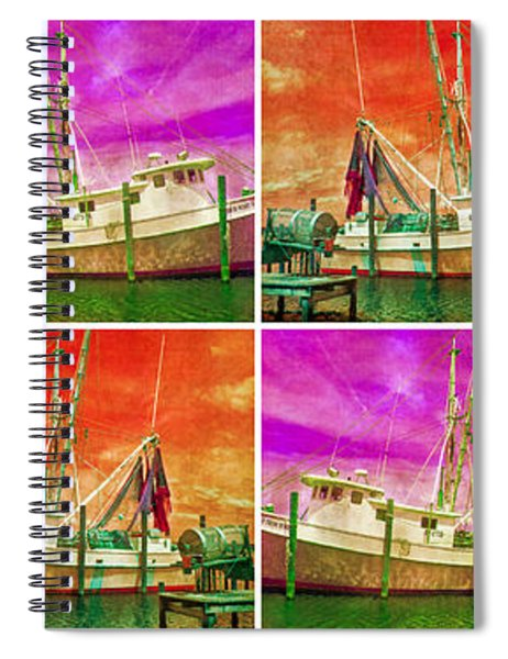 Boat Of A Different Color Spiral Notebook